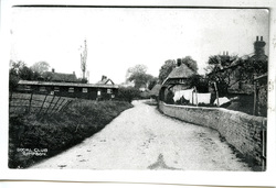 Simpson Social Club /Village Hall, Hut from Staple Hall Camp WW1